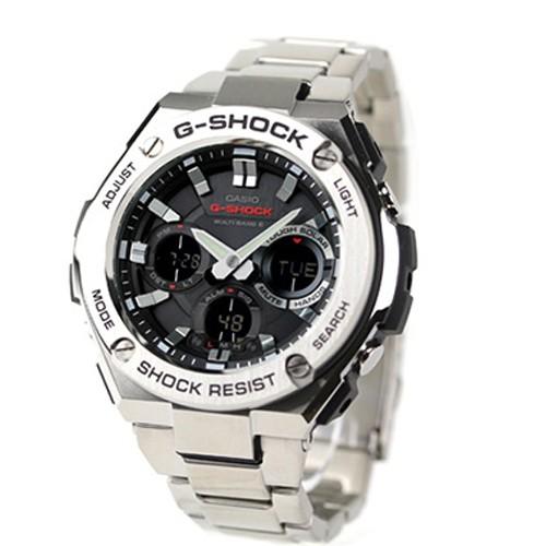 a7f2645f2040 Details about CASIO G-Shock GST-W110D-1AJF G-Steel Atomic Radio Watch JAPAN  GST-W110D-1A